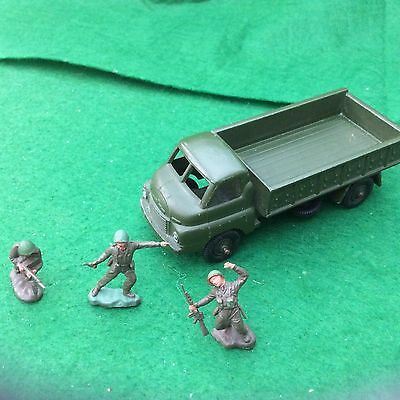 Britain's Lilliput Bedford Army Lorry
