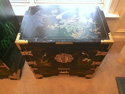 VINTAGE ANTIQUE Asian Oriental CHEST W/ Drawers