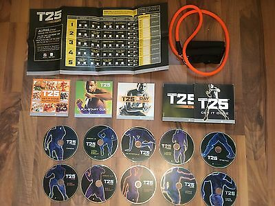 Beachbody Focus T25 Alpha & Beta Fitness DVD Set From The Makers Of PiYo & Cize