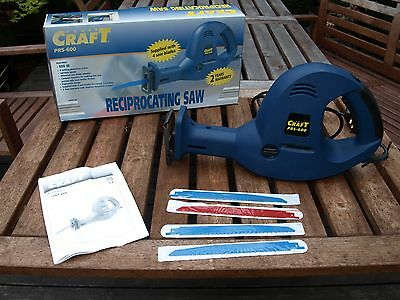 Power Craft Reciprocating Saw used just once in excellent condition inc manual