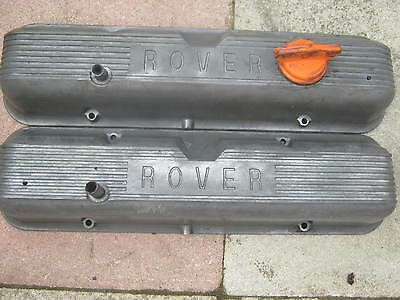 Rover V8 P6 Pair Of Rocker Covers