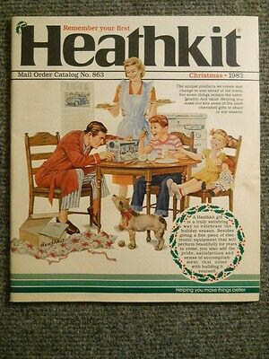 Heathkit Catalog ~ Christmas 1983 ~ Ham,  CB gear, parts, radio, computer