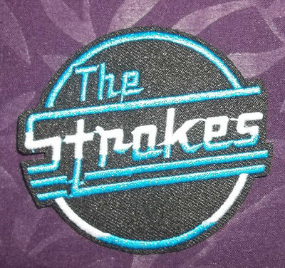 The Strokes Patch Rock Punk Whitestripes English Rock Diy