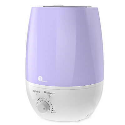 1byone Ultrasonic Cool Mist Humidifier 7 Color Night Light Aroma Diffuser 6L