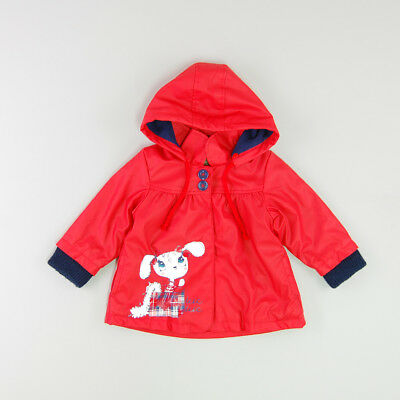 Impermeable color Rojo marca Tuc Tuc 12 Meses