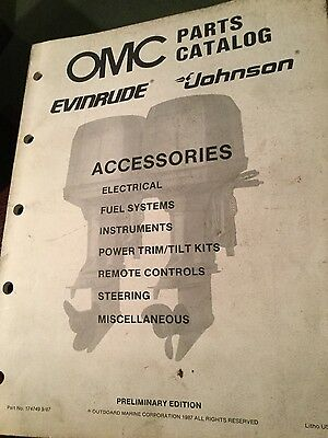 Evinrude Johnson OMC parts catalog (1988) -  Accessories