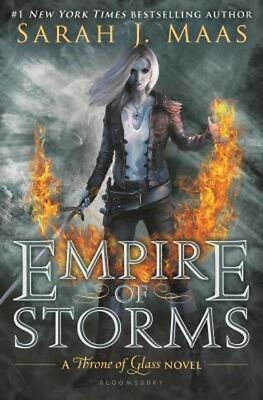 Throne of Glass Series Book 5: Empire of Storms by Sarah J. Maas Hardcover DJ HC