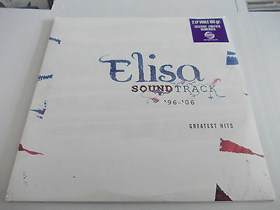 Elisa Soundtrack 2Lp Originale Sigillato Limitato Vinile Blu Ligabue