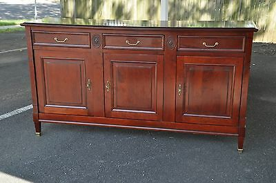 Grange Made In France Cherry Directoire Style Sideboard TV Console