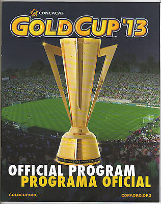 Orig.Complete PRG   CONCACAF - GOLD CUP USA 2013  !!  VERY RARE