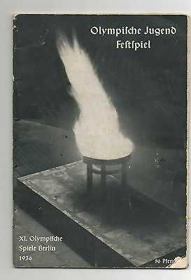 Orig.PRG   Olympic Games BERLIN 1936  -  Opening Festival  !!  EXTREM RARE