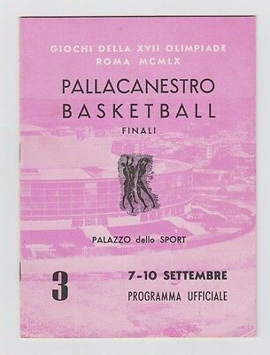 Orig.PRG     Olympic Games ROM 1960  -  BASKETBALL FINAL ROUND  !!  EXTREM RARE