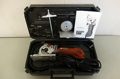 Platinum Rotorazer Saw Rz200 Corded Circular Hand Saw In Casing