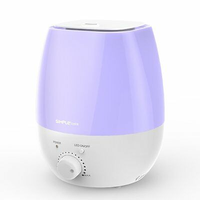1byone Ultrasonic Cool Mist Humidifier Aroma Diffuser With 7 Color Light 3L