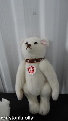 2006 Steiff Strauss The Rattle Bear 668494 N. American Exclusive #00321 Coa Bag