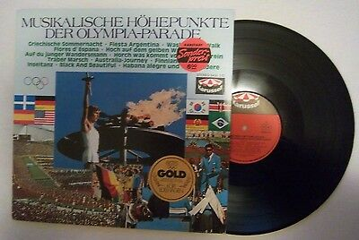 Orig.Record   Olympic Games MÜNCHEN 1972 - Special Edition  !!  VERY RARE