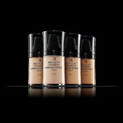 REVLON PHOTOREADY AIRBRUSH EFFECT MAKEUP FOUNDATION SPF 20 - choose your shade
