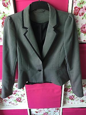 Ladies Suit Size 12 Jacket 14 Trousers New Look