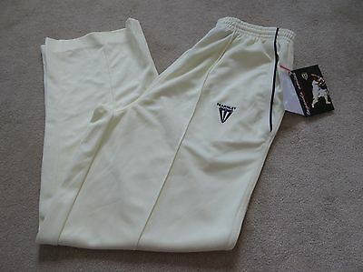 "NWT New CRICKET TROUSERS, Size M (32/33""), Short Length, FEARNLEY Men's/Boy's"