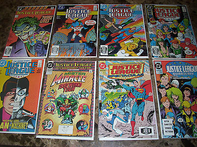 Lot of 14 Justice League Comics, International, Spectacular, Quarterly, Society