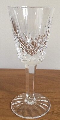 """Waterford Crystal Lismore Sherry Glass 5 1/8"""" up to 5 available"""
