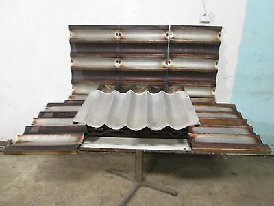 "Lot Of 12 ""chicago Metallic"" Assorted Baguette/french Bread Aluminum Baking Pans"