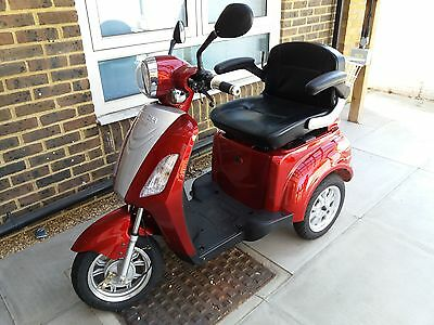 Three wheel Ztech mobility scooter