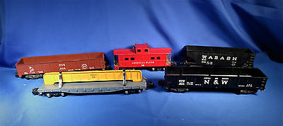 Set of 5 American Flyer Freight Cars