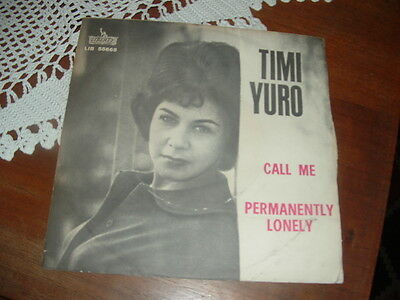 "Timi Yuro "" Call Me - Permanently Lonely "" Italy'64"
