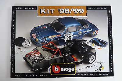 Bburago Burago Catalogue Kit - 1998/1999