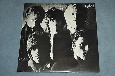 CHELSEA - CHELSEA VINYL LP Original Issue EX+ 1979 STEP FORWARD RECORDS