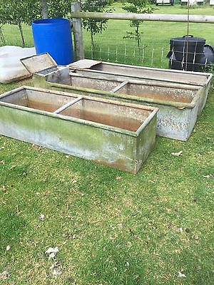 Galvanised Water Trough