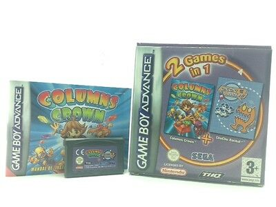 2 Games In 1 Colums Crown Nintendo Advance 2114141