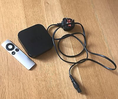 Apple TV 3rd Gen A1469 with Remote