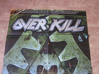 overkill slayer kreator municipal waste testament