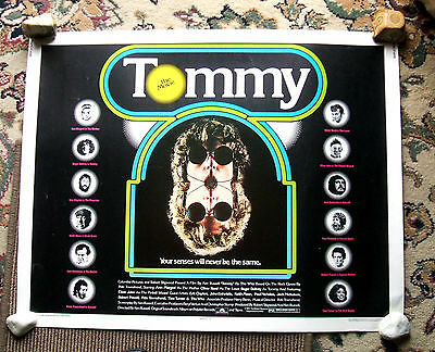 # TOMMY. Original  1975 poster. The Who #