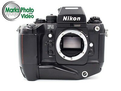 Nikon F4 35mm SLR Film Camera with MB-21 Battery Pack