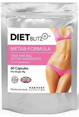 60 Metab Weight Loss Extreme Pills Very Strong Diet Slimming Tablet Fatburner100