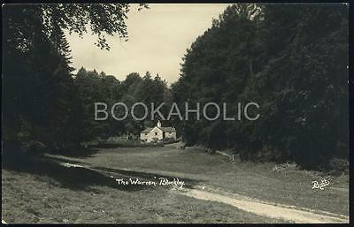 Real photo postcard - The WARREN - BLOCKLEY - Gloucester  - George VI stamp.