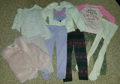 Large lot of girls 4t clothing cat and jack genuine kids carters