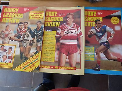 Rugby League Review Magazines (3)