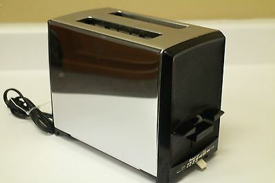 Vintage Proctor Silex Toaster Chrome 2 Slice Restaurant Chrome Toaster