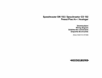 Heidelberg SM-CD 102 wiring diagram (118)