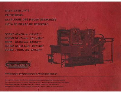 Heidelberg SOR (old) Parts Catalogo (098)