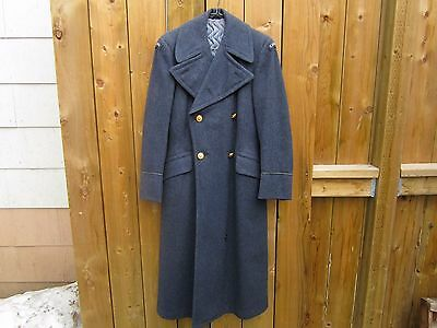 Rare 1953 Woman's  RCAF Greatcoat or Overcoat Pattern 51 Nice