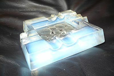 a hunebelle french art deco signed opalescent glass