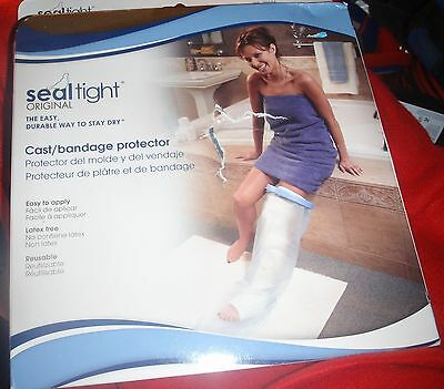 Cast Shower Protector / New In Box / 42 Inches For Long Leg Cast Seal Tite / New