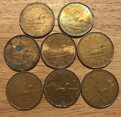 Canadian Coin Mix Lot Ready To Spend U.s.a. Shipping Only