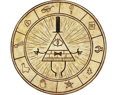 Gravity Falls Bill Cipher Logo Design Kids Room Mouse Pad