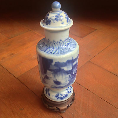 Rare Cylindrical Vase.  Kangxi M&p.  Vung Tau Cargo. 17Th